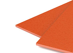 55mil Orange Sand Poly Binding Covers
