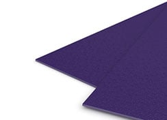 23mil Purple Sand Poly Binding Covers