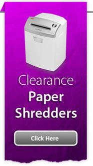 Clearance Paper Shredders