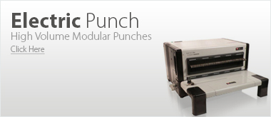 Binding Modular Punch Electric
