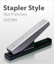 Stapler Style Slot Punches