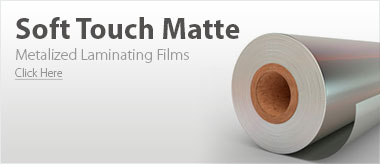 Metalized Matte Laminating Films