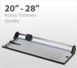 20-inch - 28-inch Rotary Trimmers