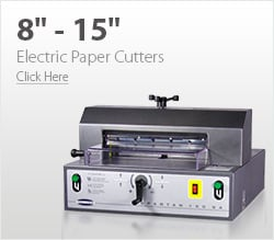 8& - 15& Electric Paper Cutters