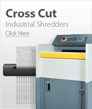 Industrial Cross Cut Paper Shredders