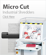 Industrial Micro Cut Paper Shredders