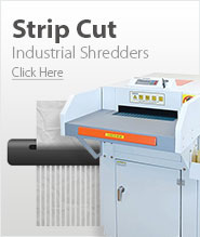 Industrial Strip Cut Paper Shredders