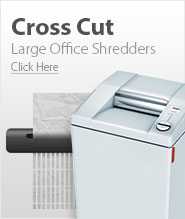 Large Office Cross Cut Paper Shredders