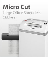 Large Office Micro Cut Paper Shredders