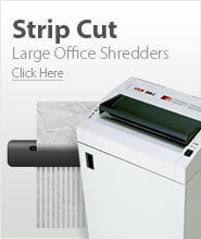 Large Office Strip Cut Paper Shredders