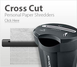 Personal Cross Cut Paper Shredders