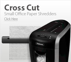 Small Office Cross Cut Paper Shredders