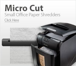 Small Office Micro Cut Paper Shredders