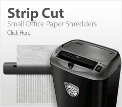 Small Office Strip Cut Paper Shredders