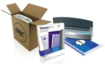 ThermaBind Binding Machines and Supplies
