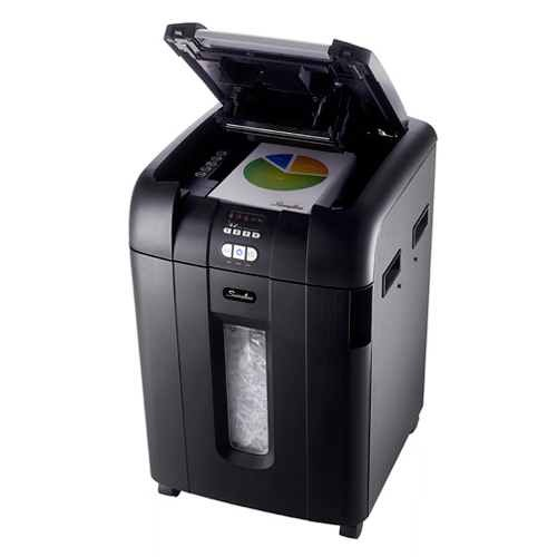 Swingline Stack-and-Shred 500X Hands Free Shredder